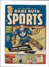 BABE RUTH SPORTS #7 [1950 VG-] SUGAR RAY ROBINSON STORY!