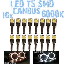 N° 16 Gloeilampen LED T5 CANBUS 6000K SMD 5050 Koplampen Angel Eyes DEPO FK 1C3