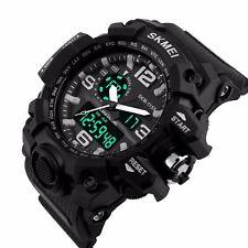 SKMEI Men's G Style Sports Military Digital Analog LED Shock Quartz Wrist Watch