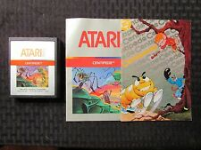 Vintage Centipede Atari 2600 Game Cartridge w/ Instructions Untested