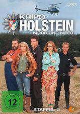 4 DVDs * KRIPO HOLSTEIN - MORD UND MEER ~ STAFFEL 2 # NEU OVP^