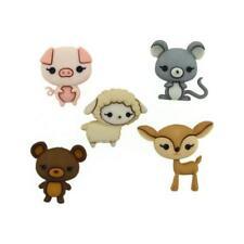 Dress It Up Botones - 5 un. animal Cuties