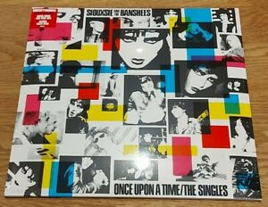 SIOUXSIE AND THE BANSHEES - ONCE UPON A TIME - VERY LIMITED CLEAR VINYL & POSTER