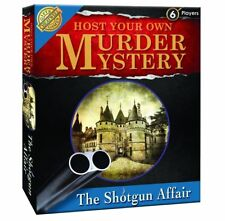 Crimen Y Misterio-el asunto de escopeta-host su propio noche-Cheatwell games