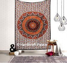 Tapiz con estrella hindú hippie Mandala Colgante De Pared Tapices tirar Dormitorio Decoración Arte