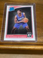 Shai Gilgeous Alexander optic rated rookie Clippers/thunder 🔥📈📈📈 Psa 10?