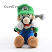 "Super Mario Bros Luigi's Mansion 2 Luigi 7"" Figure Stuffed Plush Toy Doll"