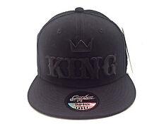 NEW KING SNAPBACK BASEBALL CAP HIP HOP ERA FITTED FLAT PEAK HAT