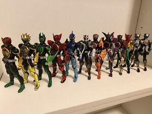 Loose Masked Kamen Rider Figuarts Seihou Bone Carving OOO Lot Of 12 US Seller