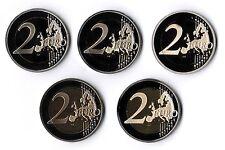 2 euro Alemania 2005 adfgj pulida disco en münzkapseln