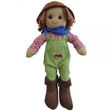 Powell Craft Bambola Di Pezza Farmer Super bambine/Compleanno Di Ragazzi/Natale