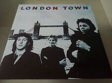 WINGS - London Town LP With Two-sided Poster & Lyric Inner