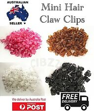 10x Quality Mini Hair Claw Clips Small Plastic Clamp Girls Style Accessory Tool