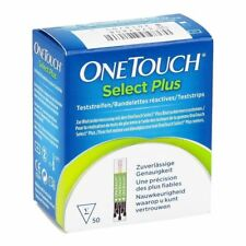One Touch Select Plus X 50 strips (for more than 6 packs to Free Glucometer)