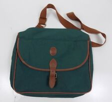 680e4c17de4f Vintage Polo Ralph Lauren Green Messenger Travel Briefcase Bag Tote