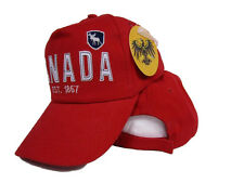 Canada Canadian Moose EST. 1867 Baseball Ball Cap Hat 3D embroidered