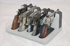 Pistol 5 Gun Rack Stand 501 Gray Cabinet Safe