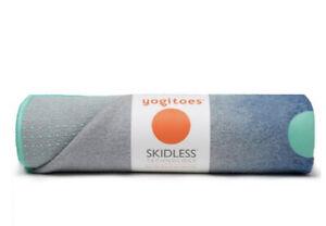New Manduka Yogitoes Yoga Mat Skidless Towel 68 X 24  Midnight Waterfall