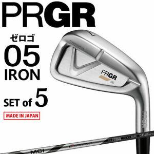 from Japan 2021 Yokohama PRGR Golf Japan 05 IRON SET #6,7,8,9,Pw MCI-SR(M-40)