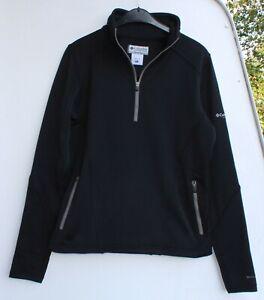 Columbia Titanium Softshell Jacke Damen Outdoor Größe XL schwarz