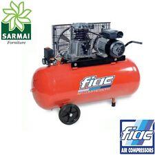 FIAC AB 100 - 268 compressore carrellato elettrico serbatoio 100 lt 2 HP 10 bar