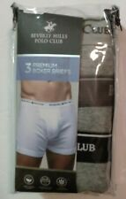 "3-Pack Beverly Hills Polo Club Men's Boxer Briefs Size L (36""-38"")"