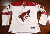 Arizona Coyotes Signed Autographed Martin Hanzal Women's Jersey NHL Hockey Auto
