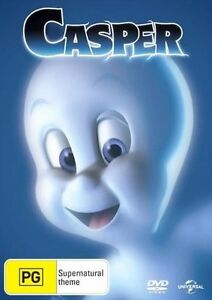 Casper Region 4 DVD Brand New Sealed