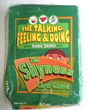 THE SHYNESS CARD GAME (Ages 6-12) Talking,Feeling&Doing Game Series, 2-4 Players