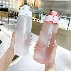 780 ML Sports Water Bottle Portable Leakproof Drinks Mugs Gym Bottle BPA Free QN