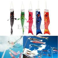 40cm Koi Nobori Carp Wind Sock Koinobori Fish Kite SH Hanging Decor Flag I0U9