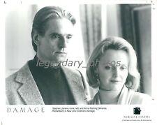 1992 Actors Jeremy Irons and Miranda Richardson Original News Service Photo