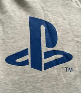 BNWT Mens Official PLAYSTATION Grey Tracksuit Jogging Bottoms Joggers