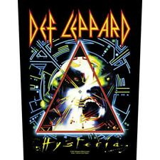 More details for official licensed - def leppard - hysteria back patch rock