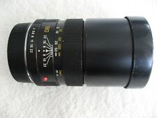 Leitz Leica, Wetzlar, Elmar objetivamente-R, 1:4/180, f/4.0, 180mm, nº 2862207