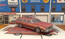 Papercraft model car Chevrolet Caprice Estate station wagon 1pc U-make 1977