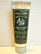 Le Couvent des Minimes GARDENER'S HAND HEALER Hand Cream, .8 oz., 20% Shea, NEW