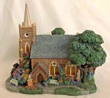 "Thomas Kinkade 8X8.5"" Hawrhorne Village Church Figurine"