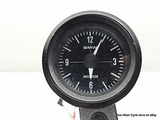 BMW non working white faced airhead clock with housing #06121704