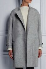 OVERSIZED  A line wool blend womens  trench jacket coat plus Size 3X 4X grey