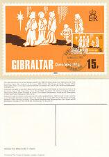 (10211) Gibraltar Maxicard FDI Christmas 12 November 1980