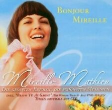 """Mireille MATHIEU """"BONJOUR MIREILLE"""" 2 CD NEUF"""