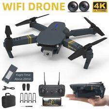 Faltbar WiFi Drohne 4K HD Kamera Quadrocopter GPS RC Drone Selfie FPV + 3 Akkus