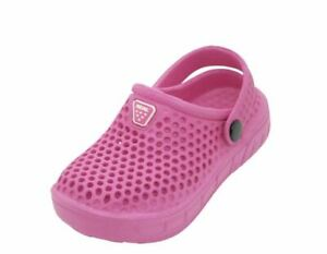 Boys and Girls Garden Clogs Classic Slingback Shoes Sizes Infant, Toddler, Littl