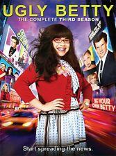 Ugly Betty Complete Season Series 3 TV Show DVD Box Set NEW America Ferrera OOP