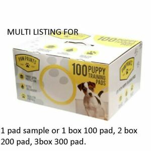 100 200 300 DOG PUPPY HOUSE LARGE ABSORBENT TRAINING TRAINER PADS TOILET WEE