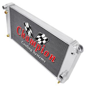 3 Row Best Cooling Champion Radiator for 1996 - 2005 Chevrolet Blazer V6 Engine