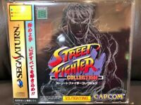 Street Fighter Collection Sega Saturn SS Video Game JAPAN