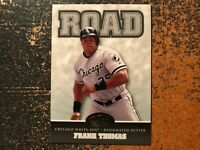 Frank Thomas White Sox 2005 Leaf Home/Road ROAD Insert #5