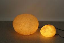 2x Moonrock Lampe Andre Cazenave France Design Lamp Space Age 60er 70er 60s 70s